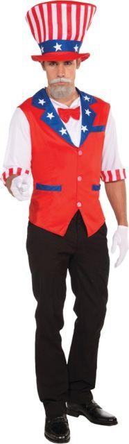 Uncle Sam Costume - Adult Costumes
