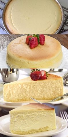 Vanilla Magic Custard Cake, Fruits And Veggies, Cake Recipes, Cheesecake, Deserts, Food And Drink, Sweets, Baking, Portuguese Desserts
