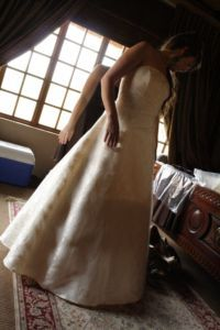 Original Eurobride wedding dress for sale