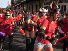 We headed off for a friend's bachelor-party weekend of booze, beads, and Bourbon Street, culminating in an early-morning trot through the streets of New Orleans for the fourth annual Running of the…