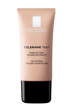 Toleriane Teint Fondo de La Roche Posay, un maquillaje mousse matificante con efecto corrector para pieles sensibles mixtas a grasas. Tiene efecto antibrillos y antiporos dilatados. Precio: 25,25 €