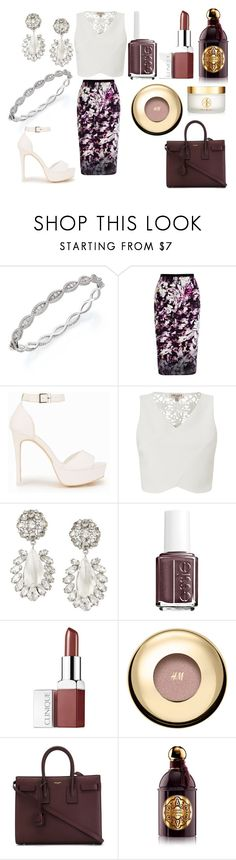 """""""Без названия #2243"""" by southerncomfort ❤ liked on Polyvore featuring Roberto Coin, Coast, Nly Shoes, Lipsy, BCBGMAXAZRIA, Essie, Clinique, H&M, Yves Saint Laurent and Guerlain"""