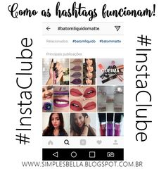 Como as hashtags funcionam no Instagram