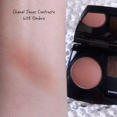 Chanel Fall-Winter 2021 Makeup Collection | Lenallure Purple Lips, Purple Grey, Red And Pink, Chanel Blush, Chanel Nail Polish, Eyeshadow Base, Makeup Items, Waterproof Mascara, Pencil Eyeliner