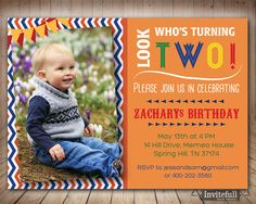 59 best birthday invitations printable party invites images on boy 2nd birthday invitationsecond photo birthday invitation for boysboy birthday invitation1st 3rd 5th birthday invitation filmwisefo