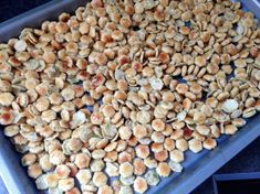 Ranch Snack Mix with Oyster Crackers Chex Mix Recipes, Dog Food Recipes, Snack Recipes, Cooking Recipes, Easy Recipes, Seasoned Oyster Crackers, Ranch Oyster Crackers, Ham Cheese Sliders, Ranch Recipe