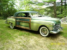 Hemmings Find of the Day – 1950 Chrysler Newport Town & Country | Hemmings Daily