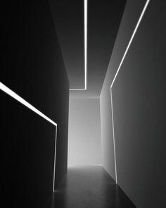 16 trendy ideas bedroom black and white decor interior doors Lighting Concepts, Linear Lighting, Lighting Design, Wall Lighting, Strip Lighting, Architecture Renovation, Light Architecture, Architecture Design, Black And White Dining Room