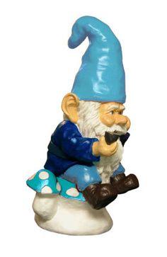 Nain de jardin design fuchsia sur   Gnomes