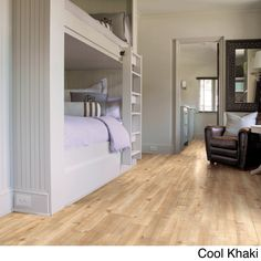 The Boulevard laminate flooring combines high style with laminate's characteristic durability to create a floor that's extraordinarily realistic, functional, and fashionable. This wood-designed look i