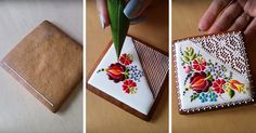 Hungarian Chef Turns Ordinary Cookies Into Stunning Embroidery-Inspired Art | Bored Panda