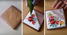 Esta chef húngara transforma simples galletas en arte inspirado en bordados | Bored Panda