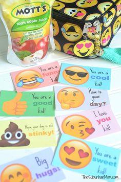 Emoji Lunch Box Notes