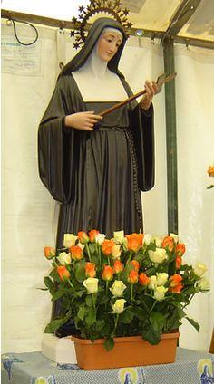 St. Rita statue