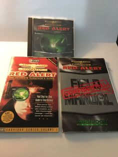 Command and Conquer RED ALERT PC CD complete manual PC GAMER Mag Survival Guide