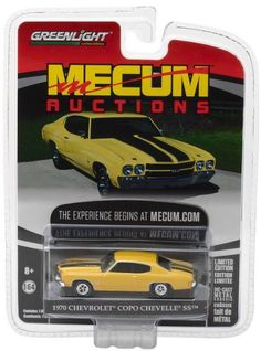 1:64 Greenlight Collectables Mecum Auction Series 1 - 1970 Chevrolet Copo Chevelle SS
