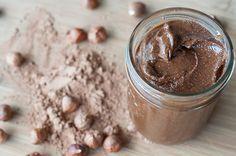 Three Ingredient Homemade Nutella #food #paleo #glutenfree #cleaneating