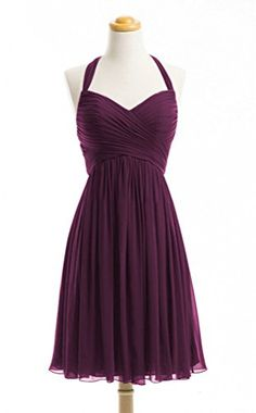 WeiYin Women's Halter Short Party Dress Bridesmaid Dresses Plum US 2 WeiYin http://www.amazon.com/dp/B0144A2MJS/ref=cm_sw_r_pi_dp_oEBxwb03JE5BZ
