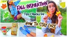 Fall Inspiration! How To Stay Cozy! Fall Outfits, Music, Food & Life Hacks! Love her. @sierramarie