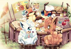 Alolan Vulpix, Pokemon Special, Fantastic Art, Roosevelt, Animal Drawings, Life Is Beautiful, Memes, Fan Art, Box