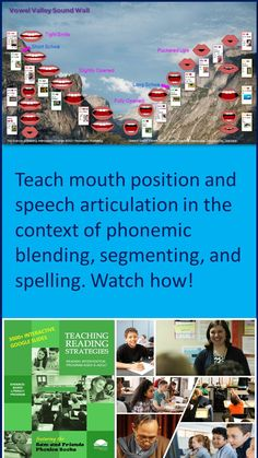 Watch this video to see how reading intervention teachers can integrate proper mouth position and speech articulation into their reading instruction. Teaching Reading Strategies, Comprehension Strategies, Reading Resources, Reading Skills, Reading Comprehension, Phonics Books, Phonics Lessons, Response To Intervention, Reading Intervention