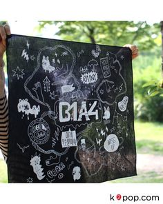 K2POP - B1A4 OFFICIAL GOODS : BANDANNA
