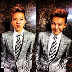 ♡♥ G-Dragon looking dapper in a checkered suit ♡♥