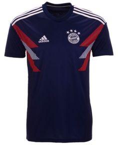 ca9097c37 adidas Men s Bayern Munich Club Team Pre Match T-Shirt - Navy White XL