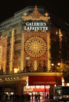 Galleries Lafayette, Paris --- wish i could remember my visit to Paris :( was only eight years old at that time...