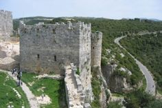 Saladin's Castle. Hair raising trip to up the mountain to this fortress.