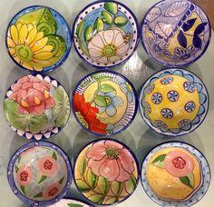 Damariscotta Pottery small bowls:
