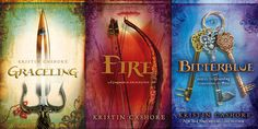 If you like fantasy books (which I do!) this series is a must. Graceling is good. Fire is great. Can not wait for Bitterblue. Excellent concept.