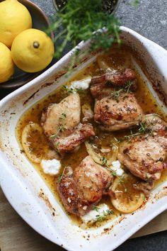 Italiaanse honing-citroen kip uit de oven, Gezonde avondmaaltijden, Gezonde koprecepten, Beaufood recepten, Gezonde foodblogs, Avondeten inspiratie