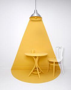 #design #wall #paint #yellow