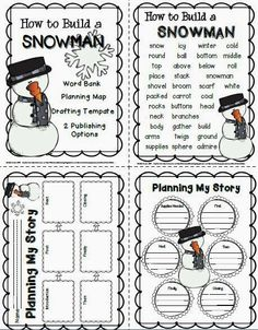"""My grade CREW are currently working on writing """"How To"""" instructional paragraphs using the transitions First, Next, Then, and Finally. Of course these are sandwiched between and introductory and c Procedural Writing, Paragraph Writing, Informational Writing, Informative Writing, Nonfiction, Kindergarten Writing, Teaching Writing, Writing Activities, Winter Activities"""