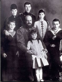 "The ""Little Nichola"" girl character suggests the Romanov family of the last czar Nicholas and his children (such as Anastasia and child Nicholas). Description from doppels.proboards.com. I searched for this on bing.com/images"