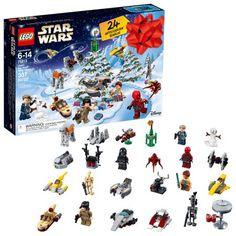 LEGO 6213564 Star Wars TM Advent Calendar 75213 2018 Edition Minifigures Small Building Toys Christmas Countdown Calendar for Kids Pieces) Multi-Color Lego Advent Calendar, Advent Calendars For Kids, Christmas Countdown Calendar, Kids Calendar, Calendar 2018, Lego Star Wars, Star Wars Toys, Star Wars Navidad, Jouet Star Wars