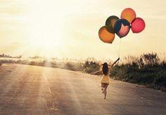 Foto idee met ballonnen