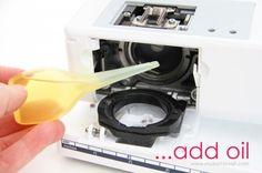 Bernina Sewing Machine maintenance | Oiling