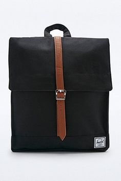 Rains Messenger Backpack in Black - Urban Outfitters
