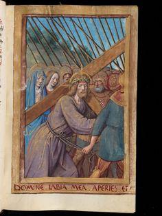 Livre d'heures à l'usage de Rome - Parchemin · 227 ff. · 16,0 x 11,0 cm · Tours · vers 1500