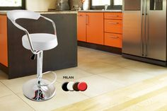 2 Bar Stools with Gas Lift - 3 Designs