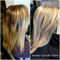 Color correction/blonde Layered Lob, Color Correction, New Hair, Stylists, Long Hair Styles, Makeup, Hair Ideas, Beauty, Nails