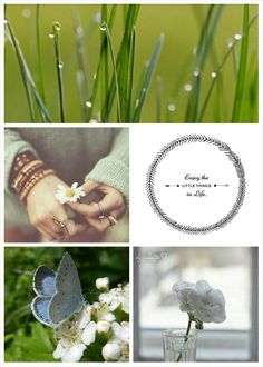 The little things. #Moodboards #Mosaic #Collage by Jeetje♡