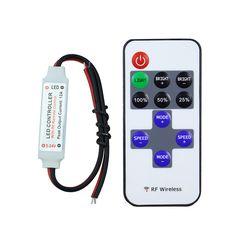 1piece  RF wirelss led dimmer DC5-24V led control dimmer for single color led strip single color | Price: US $2.20 | http://www.bestali.com/goto/1801059158/10