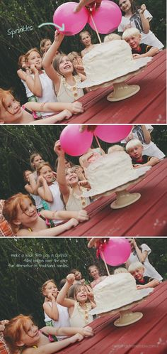 DIY: Sprinkle Balloon Cake Topper THIS LOOKS AWESOME! So fun!!!