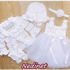 Baby girl crochet fashion.