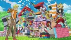One Piece - Opening 16 Building with Legos - I hope they find find an island where the houses are build with Lego