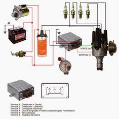 Módulo Bosch, geralmente pode se comprar em forma de kit ou separados, o kit geralmente contém o distribuidor completo com sua tampa, rot...