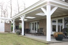 Wood porch/veranda